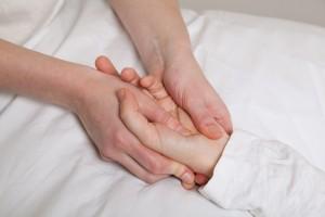 Shiatsu hands